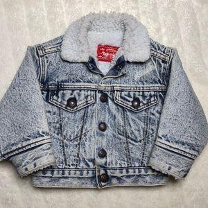 Levi's Sherpa Denim Jacket Vintage 90's 2T